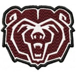 Missouri State Bears logo machine embroidery design for instant download