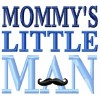 "Mommy""s little man machine embroidery design for instant download"