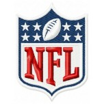 NFL logo machine embroidery design for instant download