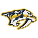 Nashville Predators logo machine embroidery design for instant download