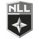 National Lacrosse League logo machine embroidery design for instant download