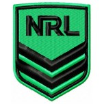 National Rugby League logo machine embroidery design for instant download