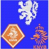 Netherlands national football team logo machine embroidery design for instant download