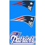 New England Patriots logo machine embroidery design for instant download