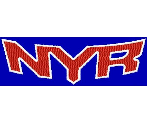 New york rangers logos machine embroidery design for