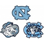 North Carolina tar heels logo machine embroidery design for instant download