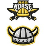 Northern Kentucky Norse logo machine embroidery design for instant download