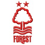 Nottingham Forest FC logo machine embroidery design for instant download