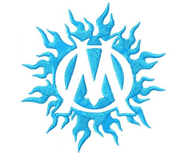 Très de Marseille 3 logos machine embroidery design for instant download QB66