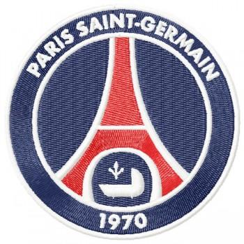 Paris Saint-Germain PSG logo machine embroidery design for instant download