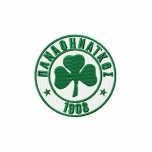 Panathinaikos logo machine embroidery design for instant download