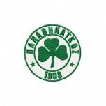 Panathinaikos logo machine embroidery design for instant download