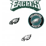 Philadelphia Eagles logo machine embroidery design for instant download