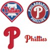 Philadelphia phillies logo machine embroidery design for instant download