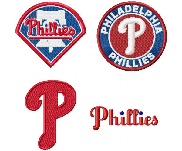 philadelphia phillies logo machine embroidery design for instant rh emoembroidery com Flyers Logo Braves Logo