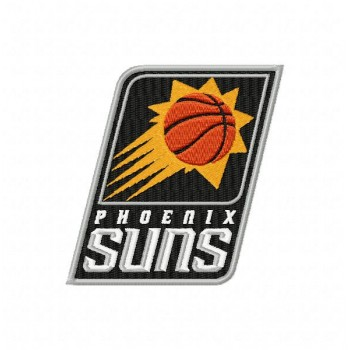 Phoenix Suns logos machine embroidery design for instant download