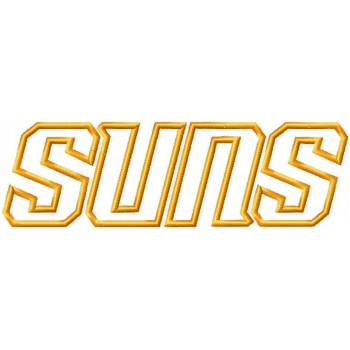 Phoenix Suns Logos Machine Embroidery Design For Instant