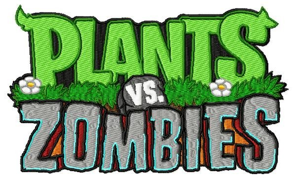 Plants vs zombies machine embroidery designs in package