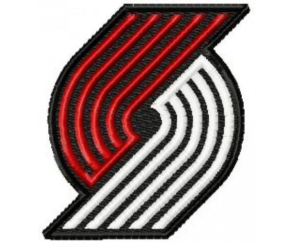 Trail Blazers Logo Machine Embroidery Design For Instant Download