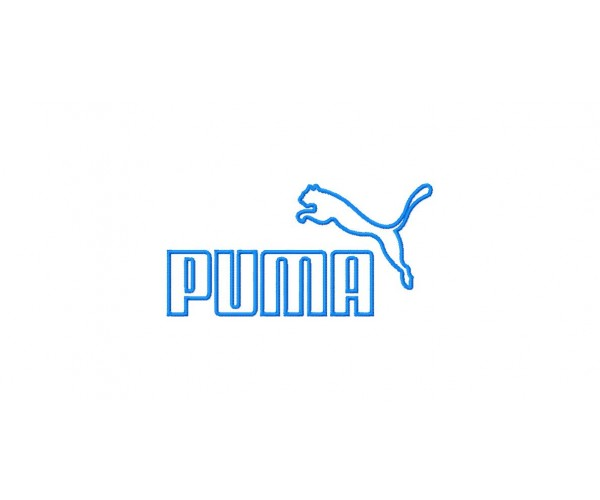 Puma Logos Package Machine Embroidery Design For Instant