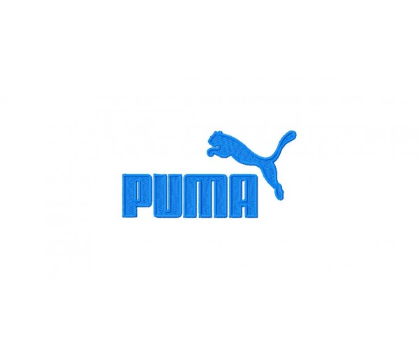 Puma Logos Package Machine Embroidery Design For Instant Download