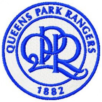 Queens Park Rangers logo machine embroidery design for instant download