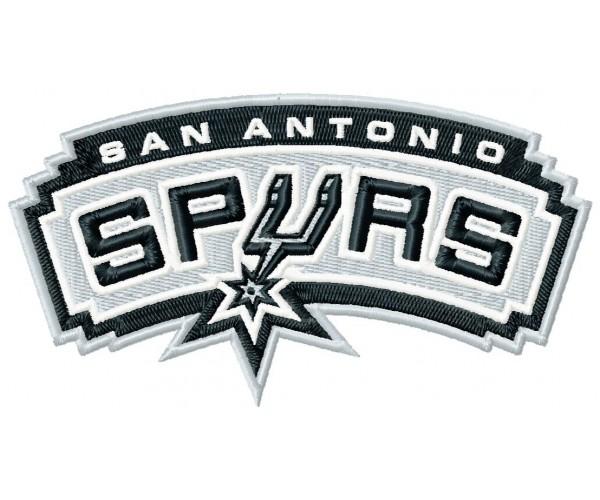 San Antonio Spurs 3 Logos Machine Embroidery Design For