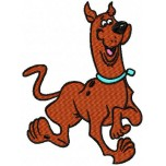 Scooby-doo Happy Machine Embroidery Design for instant download
