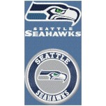 Seattle Seahawks logo machine embroidery design for instant download