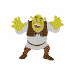Shrek Machine Embroidery Design for instant download