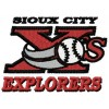 Sioux City Explorers logo machine embroidery design for instant download