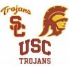 Southern California Trojans logos machine embroidery design for instant download