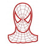 Spider man aplique machine embroidery design for instant download