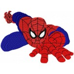 Spider man machine embroidery design for instant download