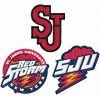 St. John's Red Storm logos machine embroidery design for instant download
