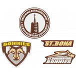 St.Bonaventure Bonnies logos machine embroidery design for instant download