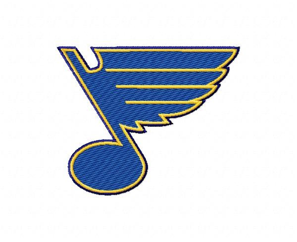 St Louis Blues 3 Logos Machine Embroidery Design For Instant Download