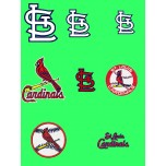 St.Louis Cardinals logos Package Machine Embroidery Design + 1 free aplique design for instant download