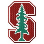 Stanford Cardinals logo machine embroidery design for instant download