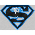 Super Carolina Panthers logo machine embroidery design for instant download