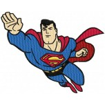 Superman machine embroidery design for instant download