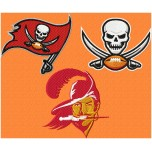 Tampa Bay Buccaneers logo machine embroidery design for instant download
