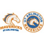 Texas-Arlington Mavericks logo machine embroidery design for instant download