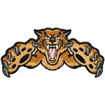 Tiger machine embroidery design for instant download