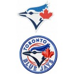 Toronto Blue Jays Logo Machine Embroidery Design for instant download