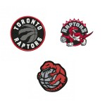 Toronto Raptors 3 Logos machine embroidery design for instant download