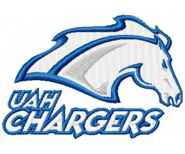 Uah Chargers Logo Machine Embroidery Design For Instant