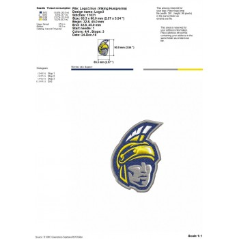 UNC Greensboro Spartans logos machine embroidery design for instant download