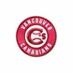 Vancouver Canadians logo machine embroidery design for instant download