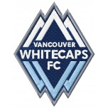 Vancouver Whitecaps FC logo machine embroidery design for instant download
